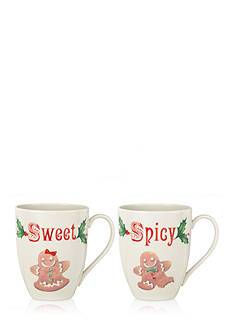 Lenox Sweet and Spicy Mug Set, Set of 2