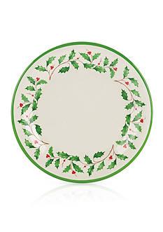 Lenox Holiday Melamine Plates, Set of 4