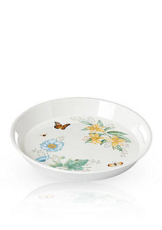 Lenox Butterfly Meadow Large Round Handled Tray
