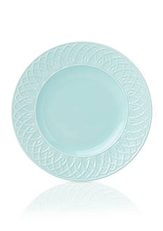 Lenox British Colonial Carved Aqua Salad Plate