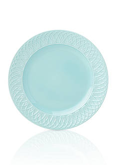 Lenox British Colonial Carved Aqua Dinner Plate