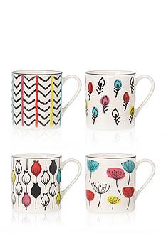 Lenox Wish Dessert Mugs, S/4