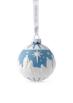 Wedgwood 2016 Nativity Blue Ornament