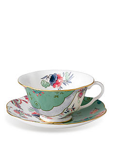 Wedgwood Butterfly Bloom Butterfly Posy Cup and Saucer