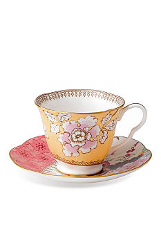 Wedgwood Butterfly Bloom Floral Bouquet Cup and Saucer