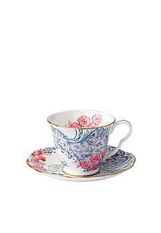 Wedgwood Butterfly Bloom Spring Blossom Cup and Saucer