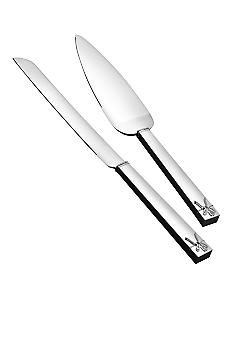Vera Wang Love Knots Cake Knife and Trowel Set