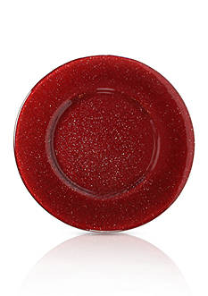 Villeroy & Boch Table Verona Red Glitter Charger
