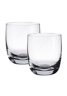 Villeroy & Boch Set of 2 Blended Scotch Tumblers