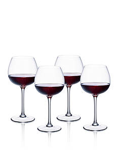 Villeroy & Boch Purismo Set of 4 Full Bodied Red Wine Glasses