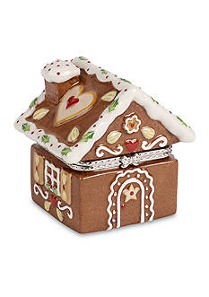 Villeroy & Boch Gingerbread House Hinged Treat Box