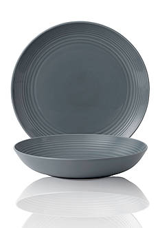 Royal Doulton GR DRK GREY 2PC SERVE SET