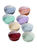 Set of 8 Dishes 4.7-in.