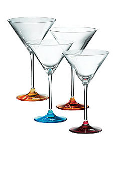 Royal Doulton Set of 4 Assorted Martinis Glasses - Online Only