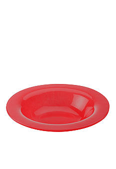 Maxwell & Williams Paint Rim Bowl Red 8-in.