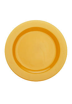 Maxwell & Williams Paint Rim Plate Amber 9-in.