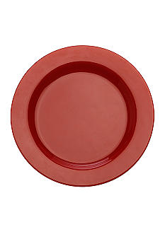 Maxwell & Williams Paint Rim Platter/Charger Red 13-in.