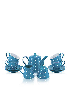 Maxwell & Williams 13-Piece Sky Sprinkle Tea Set