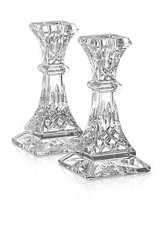 Waterford Lismore Candlestick Pair 6-in.