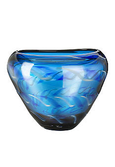 Waterford Evolution Cobalt Rush Bowl 9.5