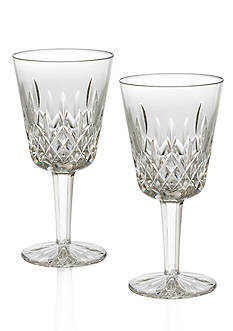 Waterford Lismore Goblet 8 oz. Boxed Pair