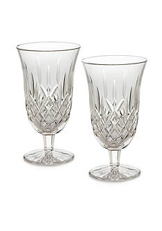 Waterford Lismore Iced Beverage Goblets, 12 oz. Boxed Pair