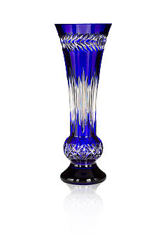 Waterford Fleurology Amy Cobalt Vase