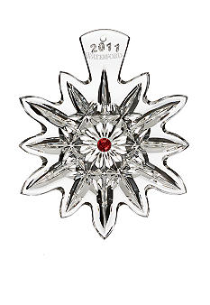 Waterford 2011 Lismore Snowflake Ornament