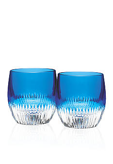 Waterford Mixology Argon Blue Tumbler, Pair