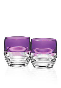 Waterford Mixology Circon Purple Tumbler, Pair