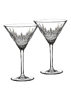 Waterford Lismore Diamond Martini Pair
