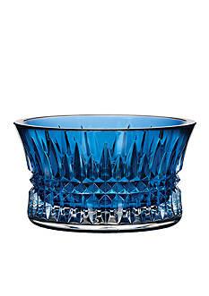 Waterford Lismore Diamond Sapphire Nut Bowl