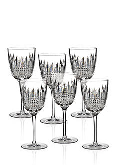 Waterford Lismore Diamond Goblets Set of 6