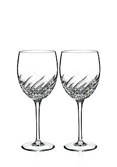 Waterford Wave Set of 2 Goblets