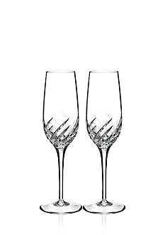 Waterford Wave Set of 2 Flutes