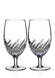 Waterford Wave Set of 2 Iced Beverage Glasses