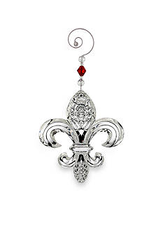 Waterford Crystal 2016 Fleur De Lys Ornament