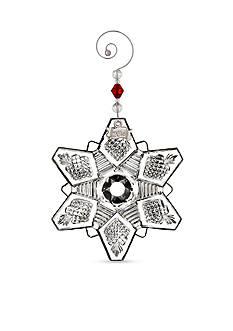 Waterford Crystal 2016 Annual Snow Crystal Pierced Ornament