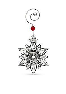 Waterford Crystal 2016 Mini Snowflake Ornament