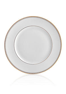 Waterford Lismore Diamond Gold Dinner Plate