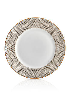 Waterford Lismore Diamond Gold Salad Plate