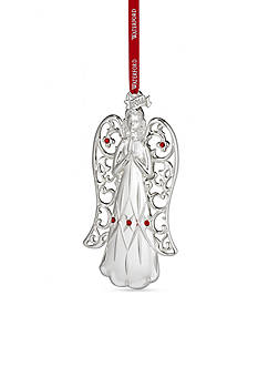 Waterford 2016 Silver Annual Angel Ornament