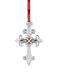 Waterford 2016 Silver Annual Cross Ornament
