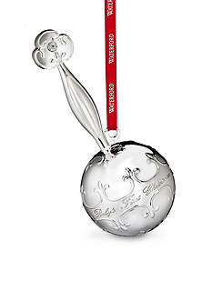 Waterford 2016 Silver Baby's First Rattle Ornament