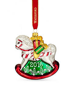 Waterford 2016 Holiday Heirloom Nostalgic Collection Baby's First Rocking Horse