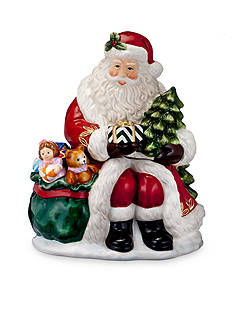 Waterford 2016 Holiday Heirloom Nostalgic Collection Gift from Santa Cookie Jar