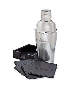 Waterford Cocktail Shaker & Coaster Gift Set