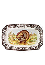 Woodland Turkey Platter 19-in.
