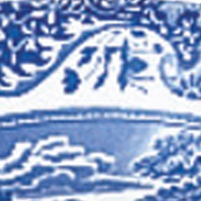 Casual Dinnerware Collection: Blue Spode BL ITAL DINNER PLATE
