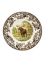 Woodland Moose Dinner Plate